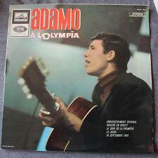 Adamo, à l'Olympia, LP - 33 tours Stereo