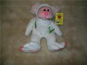 Beanie Kids GUMMY WHITE  Beanie BK 412  Mutation Retired