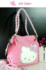 USA Seller New Hello kitty MINI BAG W/ SHOULDER STRAP PURSE