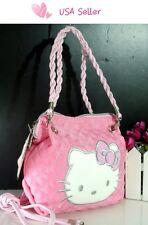 USA Seller New Hello kitty MINI BAG W/ SHOULDER STRAP PURSE