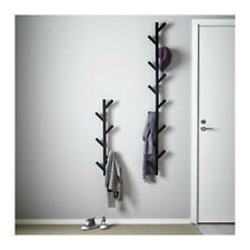 Ikea TJUSIG Wall Hanger Hat Rack Coat Rack BLACK Tree Branch Style Modern