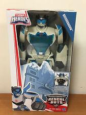 """Transformers 2017 Playskool Heroes Rescue Bots 12"""" Quickshadow Action Figure NIP"""