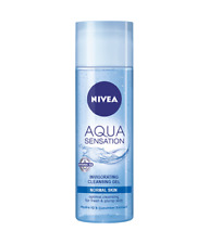 Nivea Cleansing Gel Aqua Sensation Visage For Normal Mixed Skin Hydration 200 ml