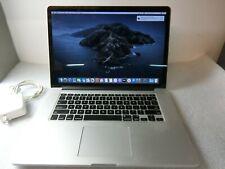 Apple MacBook Pro 15.4 inch Laptop Retina (Mid, 2015) 2.8 GHZ i7 16GB 500GB SSD