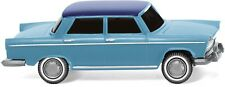 Wiking 009003 Fiat 1800 Blue with Roof Blue Ho 1:87