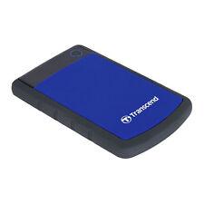 4TB Transcend StoreJet 25H3 2.5-inch USB3.1 Portable Hard Drive - Blue
