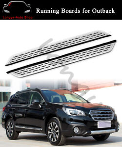 Running Boards fits for Subaru Outback 2011-2016 Side Step Nerf Bars Protector