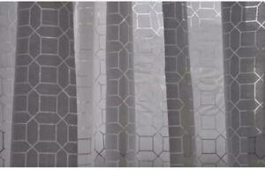 NWT Ikea Stockholm Figur Sheer white curtains Anna Sorensson 2 Panels - 57x98