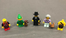 Lot of 5 LEGO Set Collection Minifigure Series #11 Holiday Elf Grandma & MORE!!