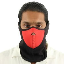 Outdoor Cold Weather Red Alert Neoprene Face Mask