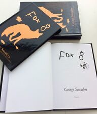 George Saunders LIMITED EDITION HAND NUMBERED Fox 8 - RARE HB