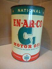 NATIONAL EN-AR-CO C1 MOTOR OIL CAN 5 -QUART