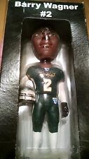 "AFL Arena Football League San Jose Sabercats ""Barry Wagner"" Bobblehead"