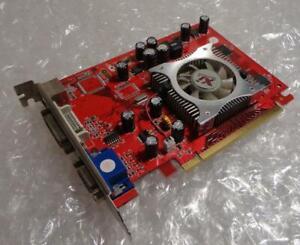 128MB XpertVision XNE/7300L+TD16-PM8272 PCIe VGA DVI Graphics Card
