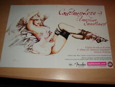COURTNEY LOVE AMERICA'S SWEETHEART!! PUBLICITE / ADVERT