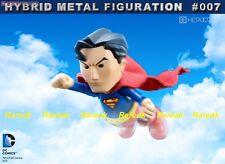 86hero Herocross Hybrid Metal Figuration 007 DC Justice League Superman Figure
