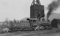 Rutland Railroad RR B&W Photo Collection - 707 Images
