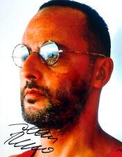 Jean Reno ++  Autogramm + Leon Der Profi ++ Die purpurnen Flüsse ++ Ronin