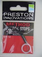 PRESTON INNOVATIONS - METHOD FEEDER STOPS - QTY 12