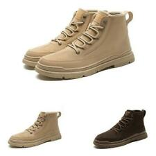 Mens High Top Sneakers Boots Shoes Outdoor Walking Sports Non-slip Camping New D