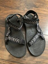Teva Outdoor Hiking Sandals Shoes Water Straps Adjustable Mens Size 10