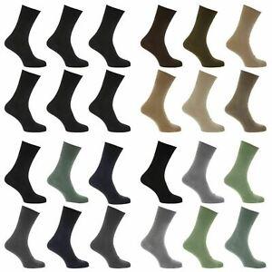 Mens/womens UK 6-11/4-7/11-14 Non Elastic Diabetic Arthritis Socks (Pack Of 6)