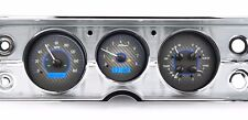 1964 to 1965 Chevelle SS Dakota Digital Carbon Fiber & Blue VHX Analog Gauge Kit