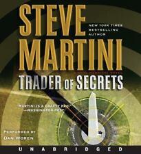 Steve Martini TRADER OF SECRETS Unabridged CD *NEW* FAST Ship in a BOX !