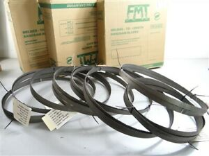 """LOT OF 8 NEW ASSORTED BAND SAW BLADES 3/4"""" X 138"""" LENOX ++"""