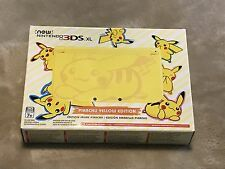 Brand New Factory Sealed Pikachu Yellow Edition Nintendo 3DS XL Console Pokemon