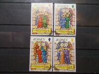 Jersey 1993 Commemorative Stamps~Christmas~Very Fine Used Set~UK Seller