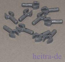 Lego - 10 x mecánicos mano gris oscuro/ASA/Claw/48729b Artículo nuevo