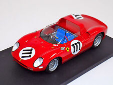 1/18 Ferrari 250 P 1963 Nurburgring car #111 Parkes Scafiotti Lim 90 pcs  f10