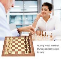 Jeu d'échecs en bois se pliant d'échecs de conseil d'échecboard en bois