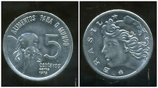 BRESIL  5 centavos 1975  ( fao )