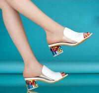 Damen Sandalen Badeschuhe  Pantoletten Pumps Sandaletten High Heels 35-41