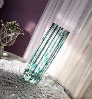 Antik? Glasvase Glaskunst Vase mundgeblasen edel WUNDERSCHÖN Designer?