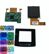 Nintendo Game Boy Color GBC Backlight LCD Screen Mod Kit Glass Screen & Spacers