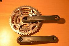 Retro Shimano XTR FC-M952 175mm Cranks Mega 9 46/34/24 Triple Chainset & bolts