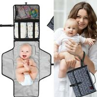 Infant Foldable Waterproof Baby Diaper Changing Mats Portable Changing Pad NEW
