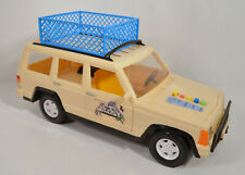 """1992 Land Master Jeep 13"""" Tiger Toys Action Figure Land Of the Lost TV Series"""