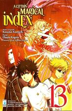 MANGA - A Certain Magical Index N° 13 - Mitico 216 - Star Comics NUOVO