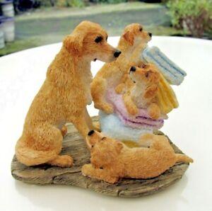 Sherratt & Simpson Dogs - New 2007 - Bathtime Antics Reduced - no packaging