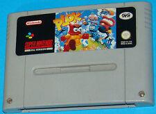 Plok - Super Nintendo SNES  - PAL
