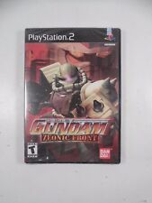SEALED SONY PLAYSTATION 2 MOBILE SUIT GUNDAM ZEONIC FRONT VIDEO GAME PS2 BANDAI
