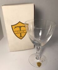 Water Goblet Silver Wheat (Stem 17546) by Tiffin-Franciscan ORIGINAL BOX NEW
