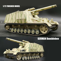 WWII GERMAN Hummel Bumblebee 1/72 Finished Model Tank SPG