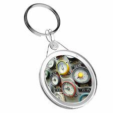 1 x Manometers Of The Reactor - Keyring IR02 Mum Dad Kids Birthday Gift #2349