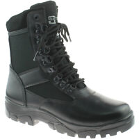 MENS GRAFTERS TACTICAL COMBAT BOOTS SIZE UK 3 - 15 SECURITY BLACK M668A KD