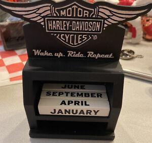 Harley Davidson perpetual calendar